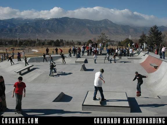 Memorial skate park colorado springs co - Memorial gardens colorado springs ...