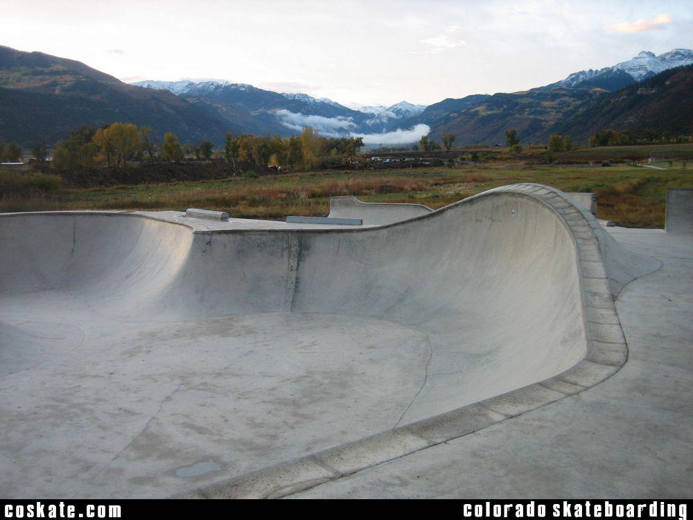Ridgeway Colorado Map.Coskate Com Ridgway Skate Park Ridgway Co